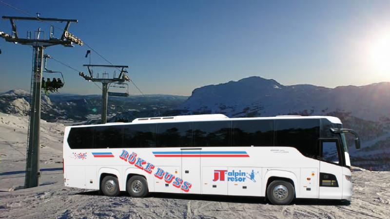 Paketresa med buss